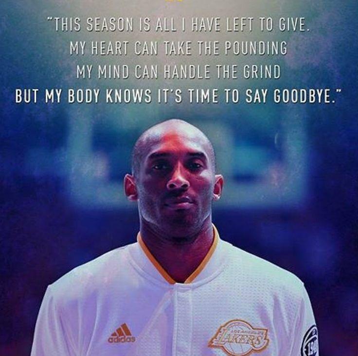 Kobe Bryant Retirement Statement #KobeBryant #KB24 #LakersNation