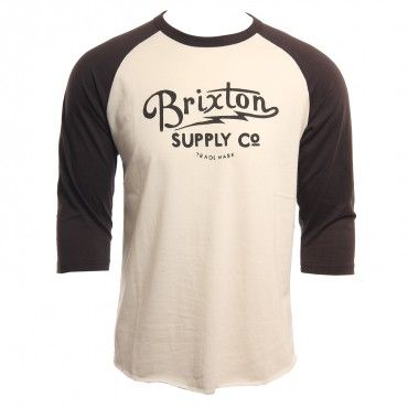 Brixton Clothing Mens Shirt Thornton Cream