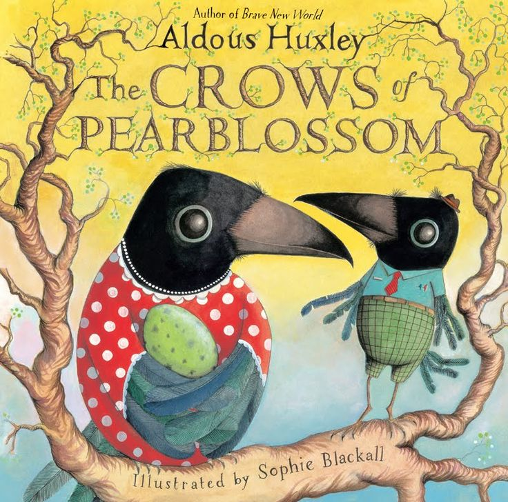 #Aldous Huxley #The Crows of Pear Blossom