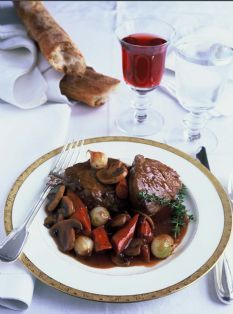 For a special occasion ---- Filet of Beef Bourguignon--Ina Garten