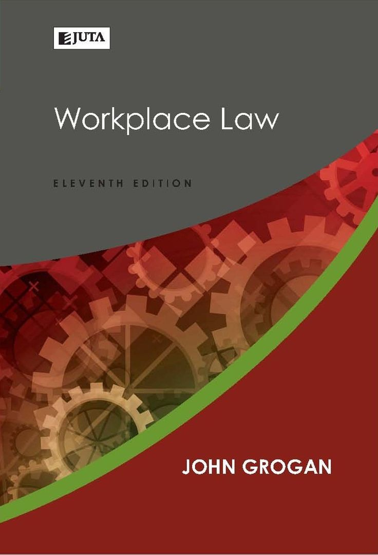 First published in 1996, Workplace Law has become one of the most widely used and frequently quoted text books on South African labour law. This 11th edition has been revised and supplemented to incorporate the latest case law, as well as the 2014 amendments to labour legislation. Workplace Law (11th ed) by John Grogan is the first labour law book on the new legislation.  Published by Juta Law