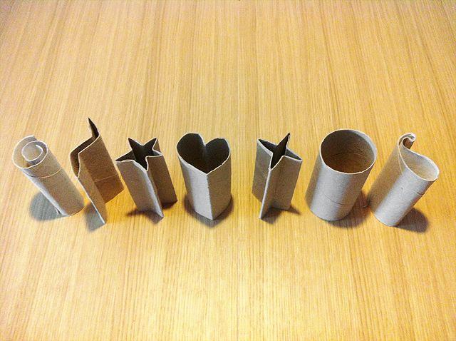 UNA MANUALIDAD BARATA: PINTAR CON ROLLOS DE CARTÓN http://yololos.blogspot.com.es/2013/07/una-manualidad-barata-pintar-con-rollos.html