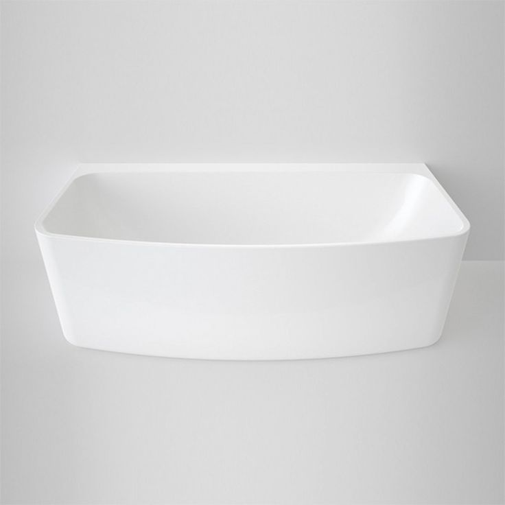 Caroma Urbane Back To Wall Freestanding Bath