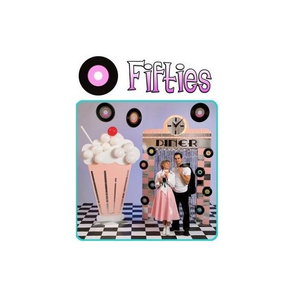 50s Sock Hop Theme Party | Theme Ideas | Free Games and Printable Puzzles found on Polyvore