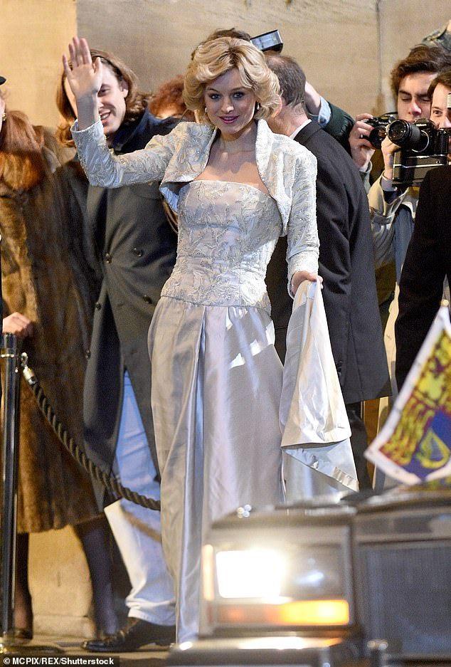 The Crown Series 4 First Look Tom Byrne Films Scenes As Prince Andrew In 2020 The Crown Season Princess Diana The Crown Elizabeth
