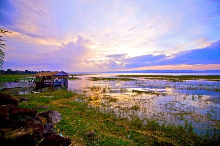 Lake Hawassa, Ethiopia.