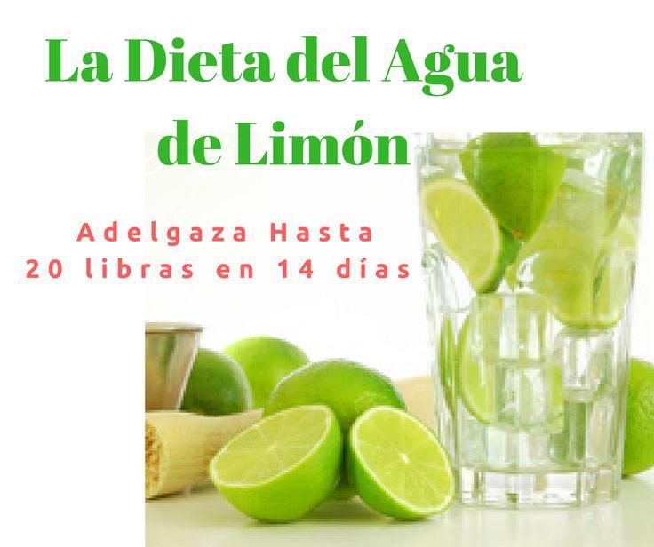 Si quieres adelgazar rápido para las vacaciones o un evento, con esta dieta del agua de limón bajas hasta 20 libras en 14 días. Aquí te muestro la receta.