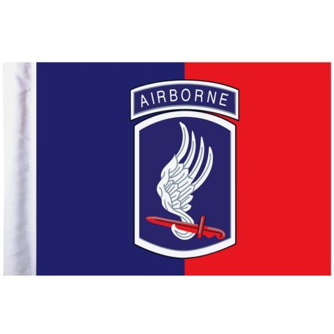 U.S. Army 173rd Airborne Pro Pad Motorcycle Flag