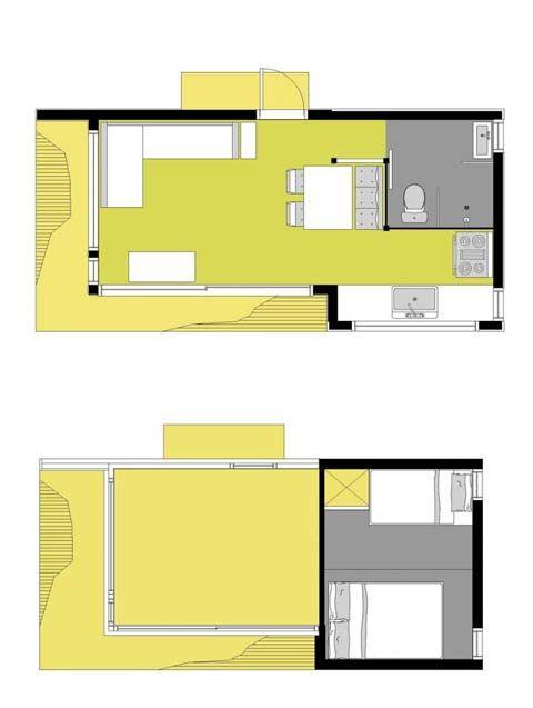 Prefab Cabins, Small Houses - Small Prefab Cabin: Pavillon Faberhaus - Busyboo