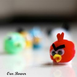 angry birds poms