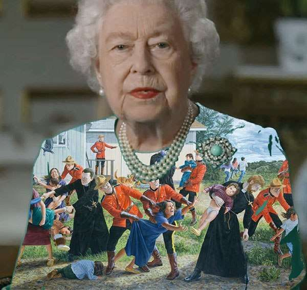 Queen Elizabeth Ii Wore Another Green Screen Outfit And The Internet Rejoiced Queen Meme Queen Elizabeth Queen Elizabeth Ii