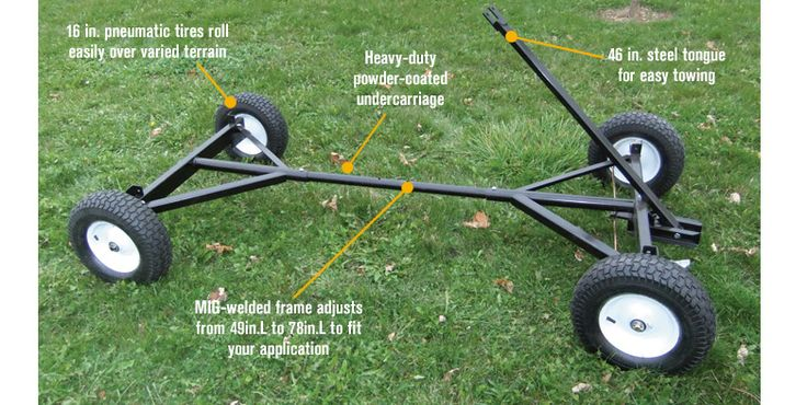 Features for Farm-Tuff Utility Trailer — 2,200-Lb. Capacity, Model# 03813