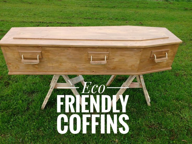 Eco coffins and funeral caskets made from 100% reclaimed upcycled solid wood in Axminster Devon.