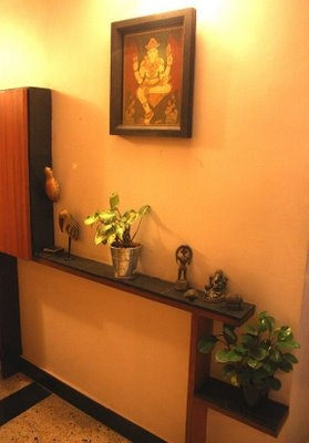 Artnlight a leafy home in bangalore home shanti home for Home design ideas hindi