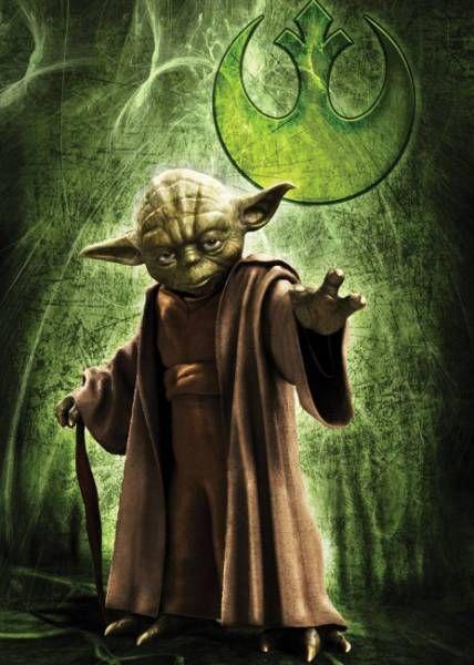 Maestro Yoda - Puzle de Star Wars