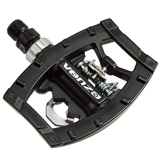 Venzo Dual Function Platform Multi Use Compatible With Shimano Spd