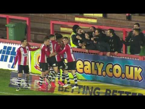 Exeter City FC vs Wycombe Wanderers - http://www.footballreplay.net/football/2017/01/31/exeter-city-fc-vs-wycombe-wanderers/
