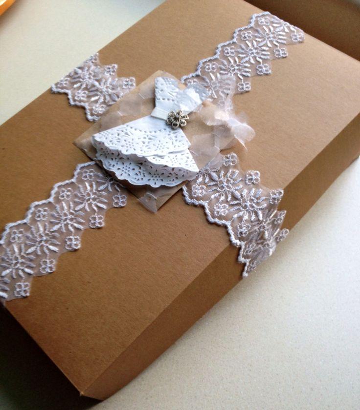 Envoltura para regalo de despedida de soltera for Envolturas para regalos
