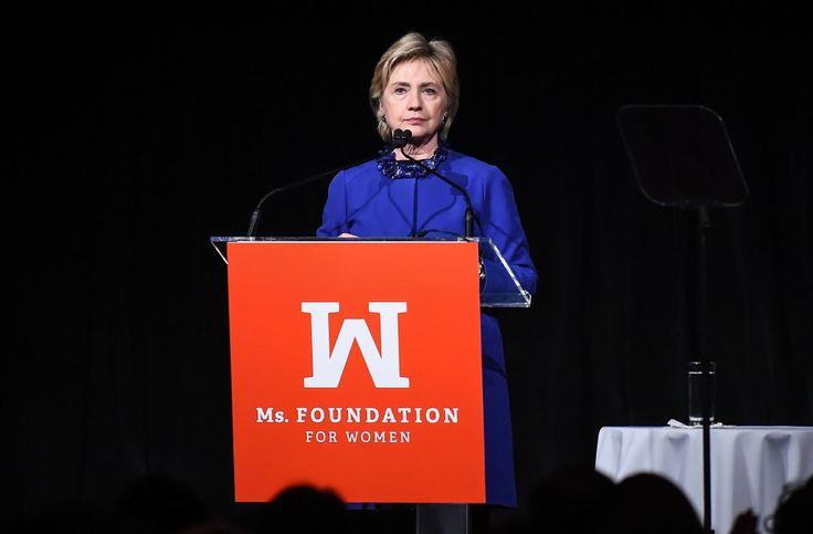 Clinton says false stories on Facebook helped Trump win election - AOL News