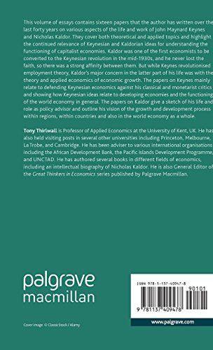 Essays on Keynesian and Kaldorian Economics (Palgrave Studies in the History of Economic Thought Ser