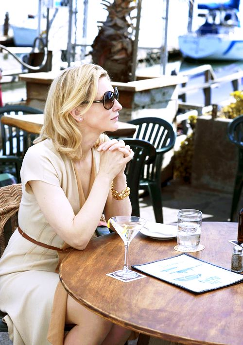 Cate Blanchett in 'Blue Jasmine': ridiculously good movie and loved her style.