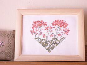 (2) Geranium heart chart