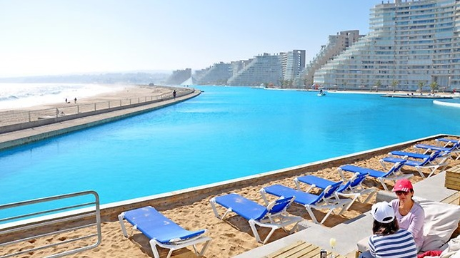 Pools that I want to visit and swim in - San Alfonso del Mar resort, Chile