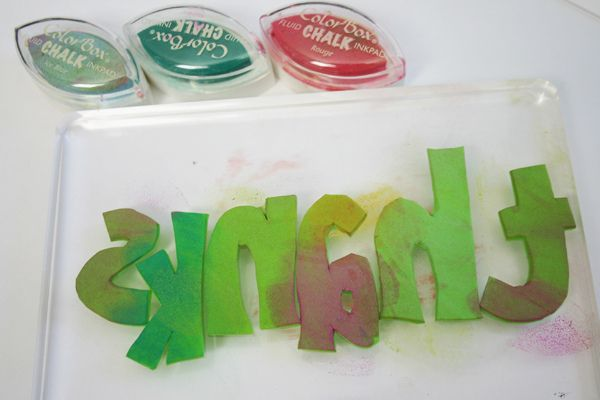 how to make stamps with foam