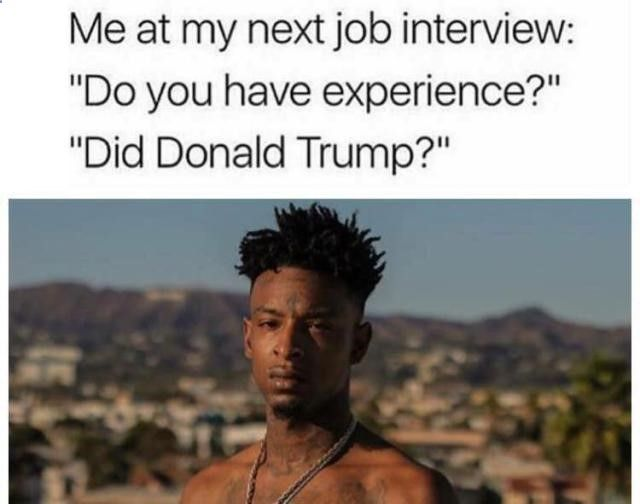 Funniest Trump Transition Memes: My Next Job Interview