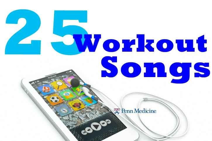 list of good workout songs