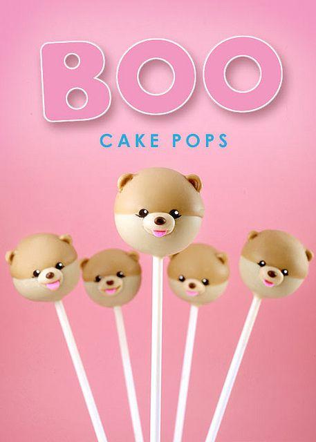 BOO cake pops by Bakerella