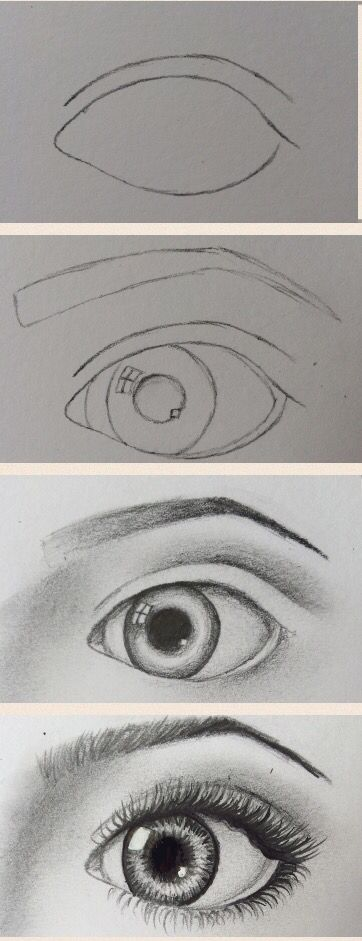 Eye sketch by?