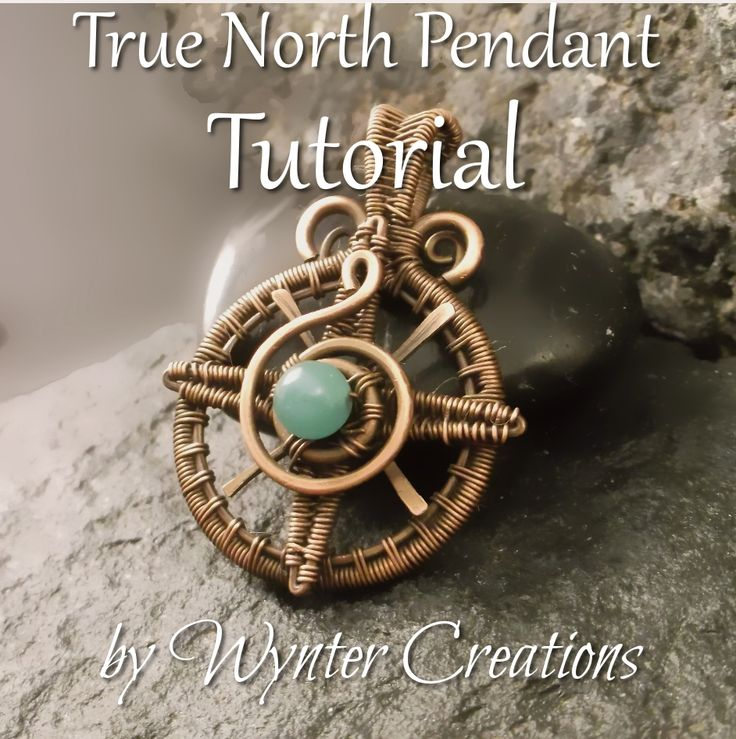 Learn to create a beautiful, symbolic compass rose pendant that's perfect for both men and women to wear with this tutorial from Wynter Creations!  With 32 pages, and over 90 high-definiton, full-color photos and detailed instructions for every step, this tutorial takes you through the design from start to finish.