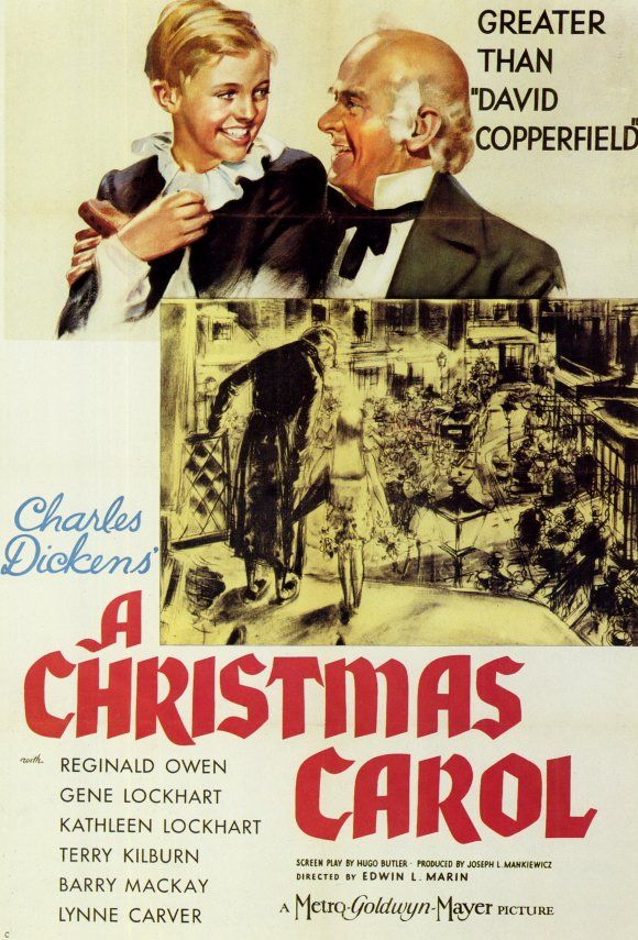 A Christmas Carol starring Reginald Owen | Vintage Movie ...