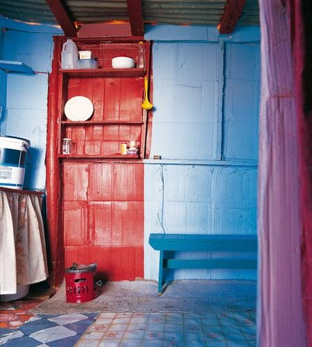Shack chic: Bright and stylish cupboards. From the book, Shack Chic, a collection of photographs celebrating the art and innovation of slum dwellers in South Africa. | www.quivertreeimages.com