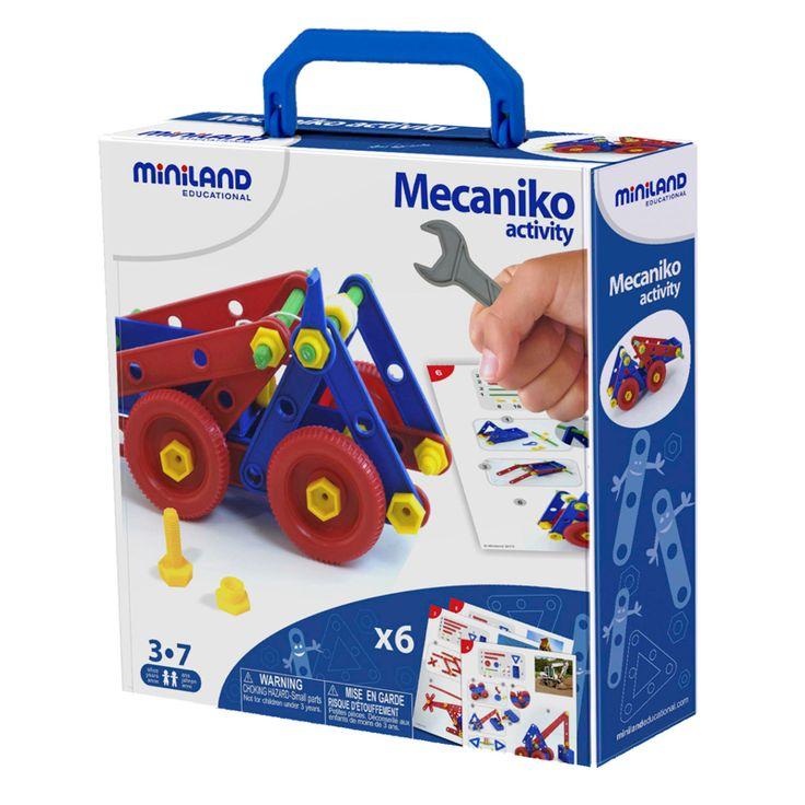 Miniland Mecaniko 74 piece