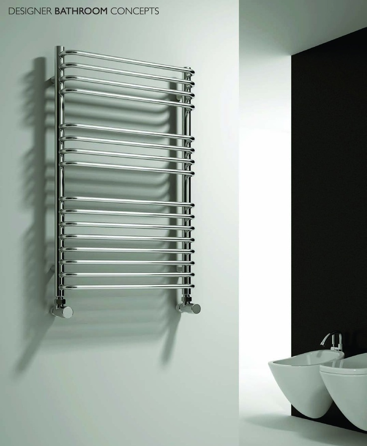 Isaro Designer Chrome Heated Towel Rails from