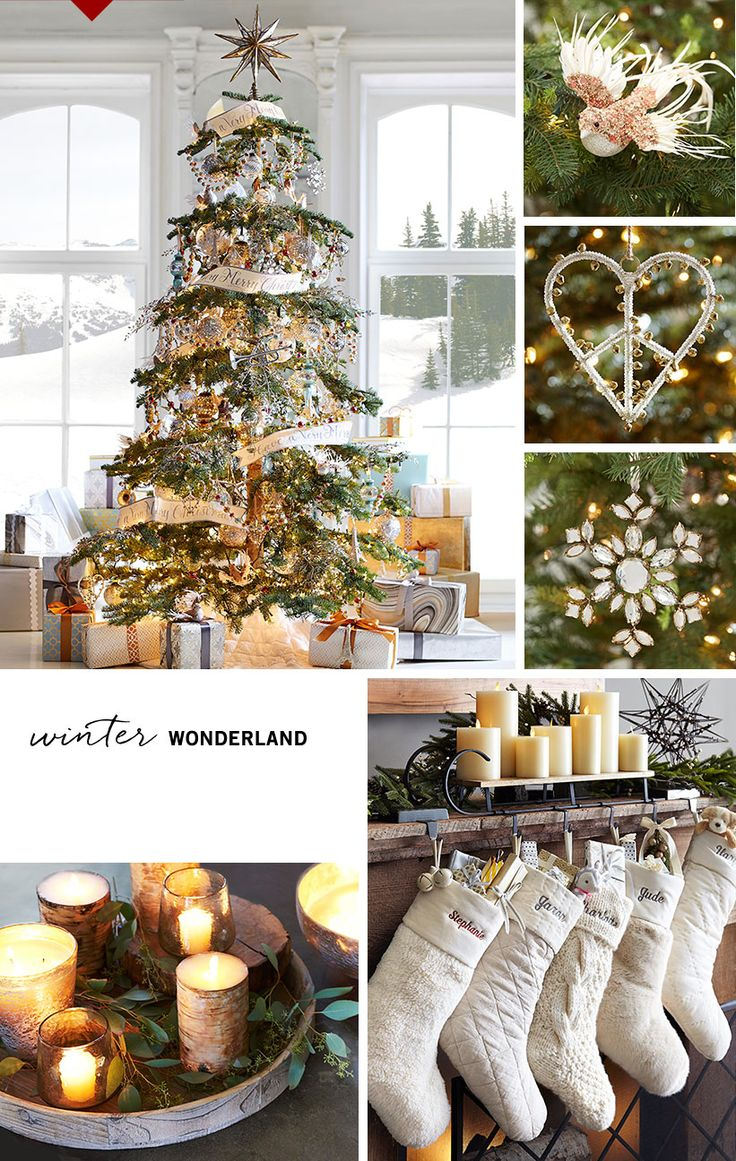 Pottery barn christmas ornaments - 4 Ways To Decorate For Christmas Pottery Barn