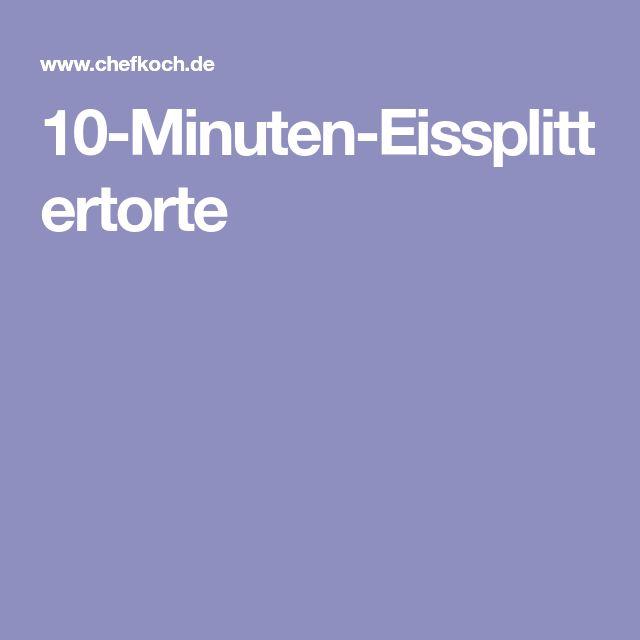 10-Minuten-Eissplittertorte