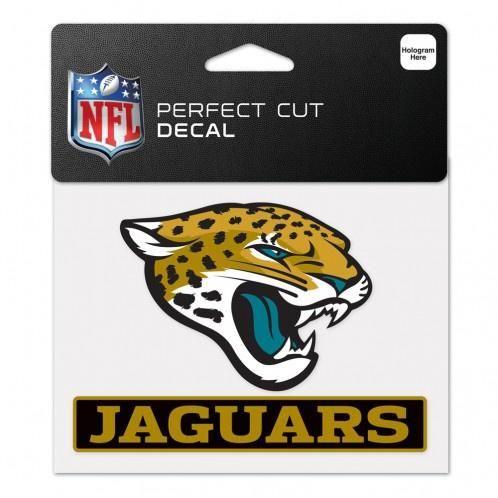 NFL Jacksonville Jaguars Color Decal 4.5 X 5.75