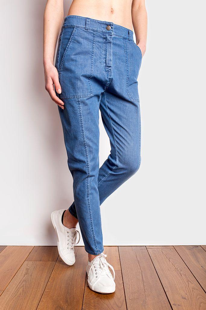 Spodnie damskie jeansowe Hobby