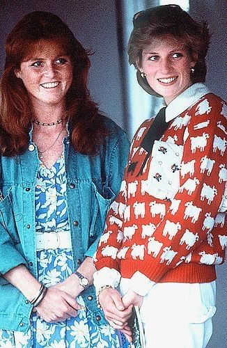 June 12, 1983 - Diana and Fergie at a polo match at Windsor
