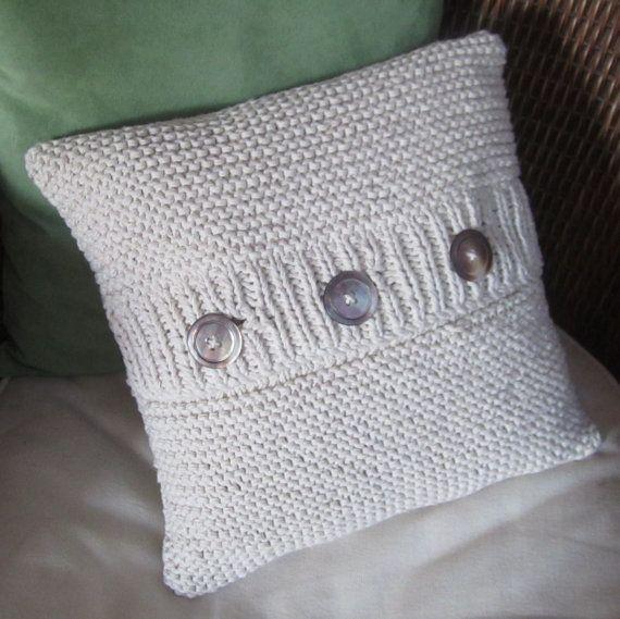 love knit pillows