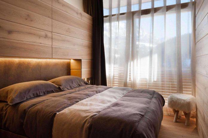 Cozy chalet situated in St. Moritz, Switzerland designed by Matteo Ceron - CAANdesign