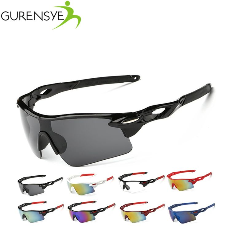 Gurensye Cycling Glasses Goggles Racing Cycling Eyewear Men UV400 Cycling Sunglasses Men Sports Driving Bicycle Sun Glasses
