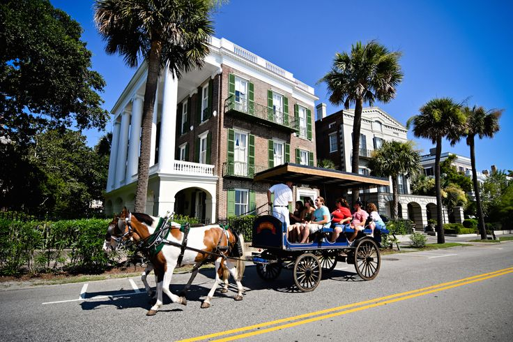 Charleston is known for its historic walking tours, and the culinary tours give you a taste of the city's great food scene.