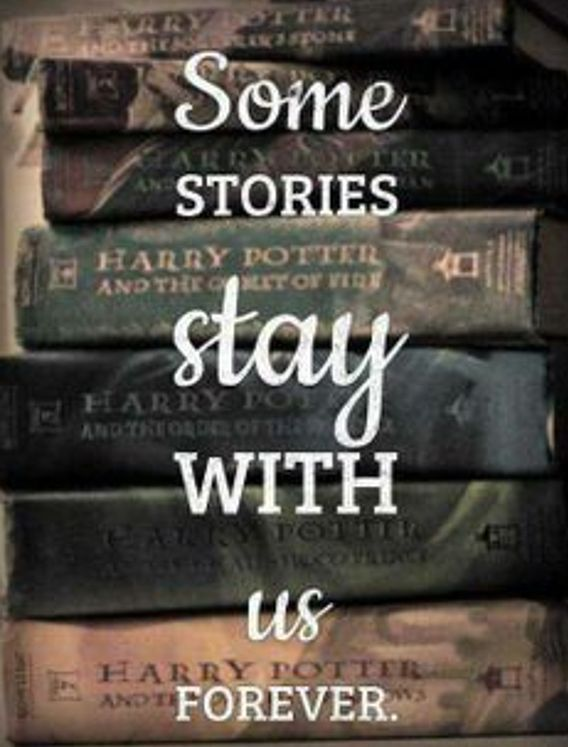 I'm thinking about reading Harry Potter again...
