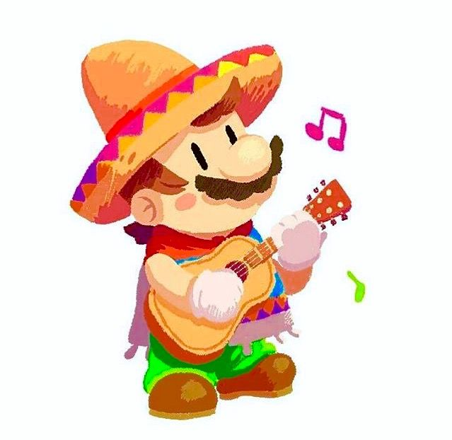 Super Mario Odyssey - Mexican Mario Can't wait to use this outfit for the entire game