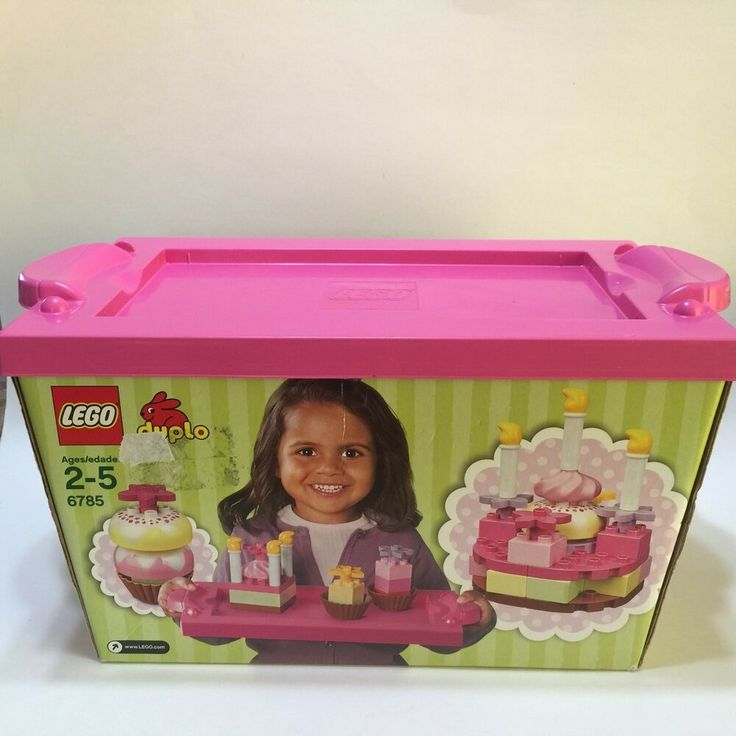 Lego Duplo 6785 Creative Cakes Set Complete Including Box Tray Instructions Complete 55 Pieces Ebay Lego Duplo Lego Food Candles