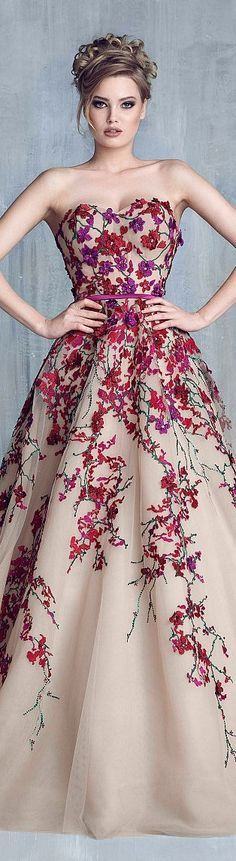 Tony Chaaya couture 2016 spring summer
